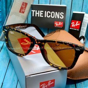 Brown Original Wayfarer RayBan Unisex Sunglasses